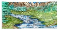 River Valley Bath Towel