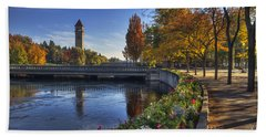 Riverfront Park - Spokane Bath Towel
