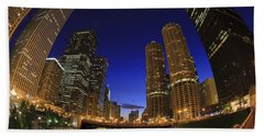 Riverwalk Chicago Bath Towel