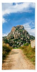 Road Into The Hills Hand Towel