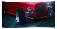 Old Car Hand Towel featuring the photograph Road Rod  by Aaron Berg