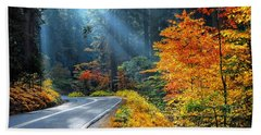 Road To Glory  Hand Towel by Lynn Bauer
