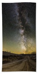 Road To Nowhere - Great Rift Hand Towel