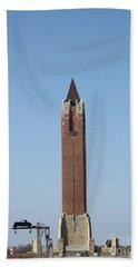 Robert Moses Tower At Jones Beach Hand Towel
