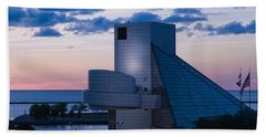 Bath Towel featuring the photograph Rock And Roll Hall Of Fame by Dale Kincaid