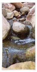 Hand Towel featuring the photograph Rock Creek by Kerri Mortenson