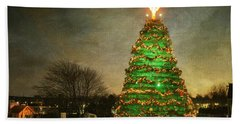 Rockland Lobster Trap Christmas Tree Hand Towel
