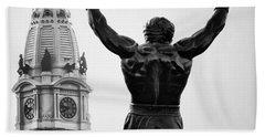 Rocky And Philadelphia Hand Towel