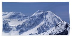 Rocky Mountain High Hand Towel by Bill Gallagher