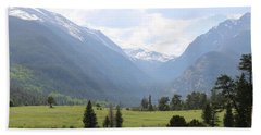 Rocky Mountain National Park  Bath Towel