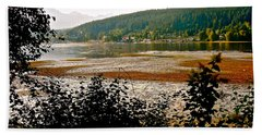 Bath Towel featuring the photograph Rocky Point Port Moody by Sher Nasser
