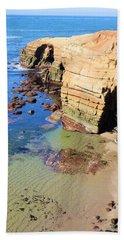 Rocky Point Sunset Cliffs Bath Towel