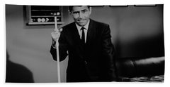 Rod Serling Bath Towel