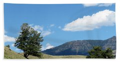 Hand Towel featuring the photograph Rolling Hills by Laurel Powell