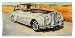 Rolls Royce Silver Cloud Bath Towel