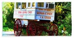 Roman Candy Hand Towel by Scott Pellegrin