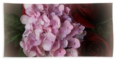 Hand Towel featuring the photograph Romantic Floral Fantasy Bouquet by Kay Novy