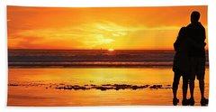 Romantic Sunset  Hand Towel