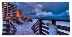 Romar Beach Clouds Hand Towel