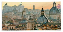 Rome - Italy Bath Towel by Luciano Mortula