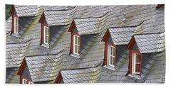 Roof Tops Hand Towel