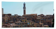 Roofs Of Siena Bath Towel