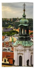 Rooftops Of Prague 1 Bath Towel