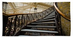 Rookery Building Atrium Staircase Hand Towel