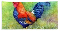 Rooster  Bath Towel