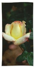 Rose 3 Hand Towel by Andy Shomock