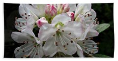 Rose Bay Rhododendron Hand Towel