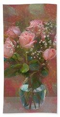 Rose Bouquet Hand Towel