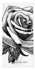 Rose Created For Canvas Comforts Bath Towel