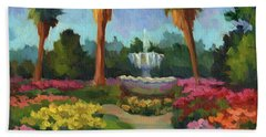 Rose Garden Hand Towel