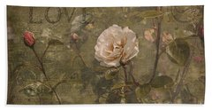 Bath Towel featuring the photograph Rose Garden by Liz  Alderdice