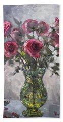 Roses For Viola 2 Bath Towel