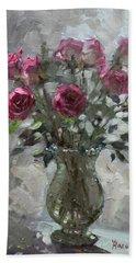 Roses For Viola Bath Towel