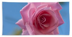 Roses In The Sky Bath Towel