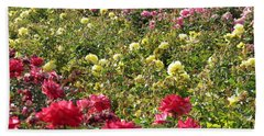 Hand Towel featuring the photograph Roses Roses Roses by Laurel Powell