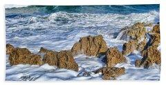 Bath Towel featuring the photograph Ross Witham Beach Stuart Florida by Olga Hamilton