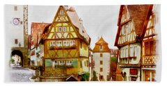 Rothenburg Bath Towel