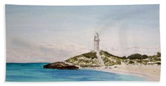 Rottnest Island Australia Bath Towel by Elvira Ingram