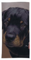 Rottweiler Dog Bath Towel