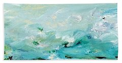 Rough Waters Bath Towel