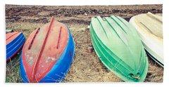Rowing Boats Hand Towel