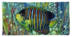 Royal Angelfish Bath Towel