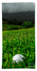 Hand Towel featuring the photograph Royal Hawaiian Golf by Angela DeFrias