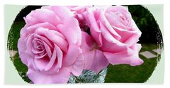 Royal Kate Roses Bath Towel