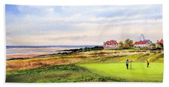 Royal Liverpool Golf Course Hoylake Bath Towel by Bill Holkham