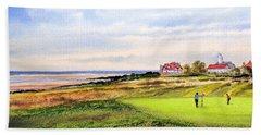 Royal Liverpool Golf Course Hoylake Bath Towel